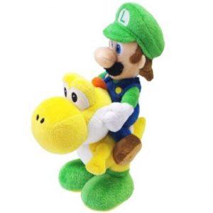Nintendo 22cm Super Mario Bros Plush Luigi and Yoshi