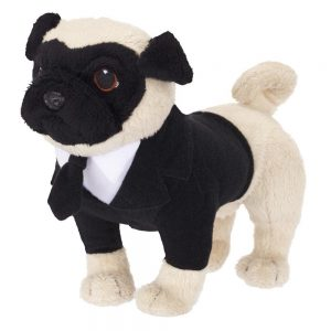 Men In Black 3 - 6 inch Talking Plush Frank the Pug