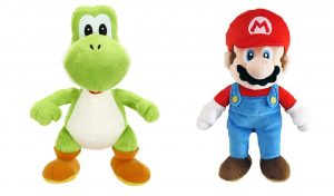 Nintendo Super Mario Plush Assortment - Mario & Yoshi