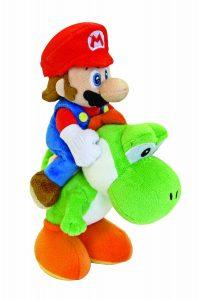 Nintendo 22cm Super Mario Bros Plush Mario and Yoshi