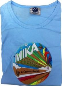 Mika Adult Life in Cartoon Motion T shirt - Assorted