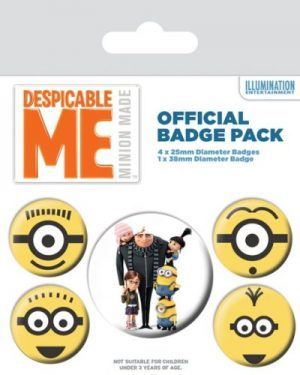 Despicable Me Minions Badge Pack