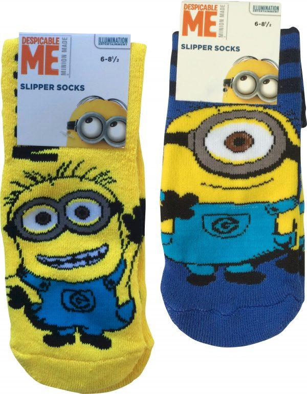 Despicable Me Minions Kids Slipper Socks