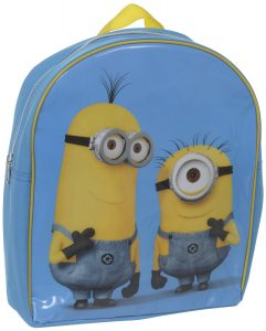Despicable Me 2 Thinking Minions Small Backpack