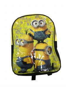 Despicable Me Minions Yellow Backpack