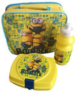 Despicable Me Minions Lunch Bag Set