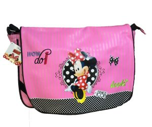 Pink Minnie Mouse Messenger Bag