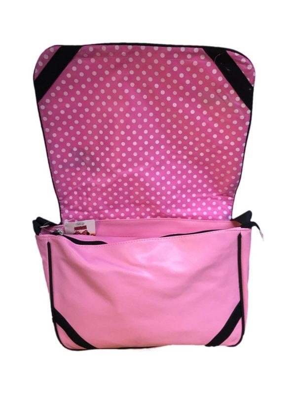 Pink Minnie Mouse Messenger Bag