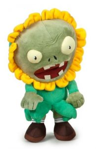 Plants Vs. Zombies Sunflower Disguise Zombie Plush