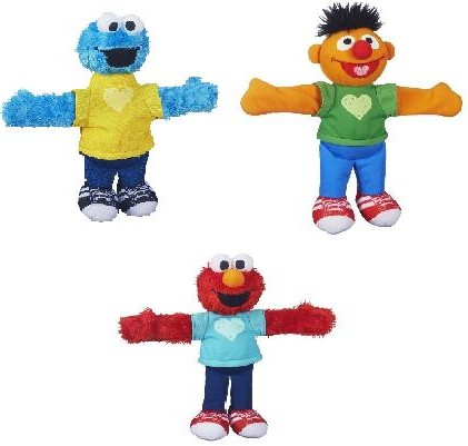 "Playskool Sesame Street Hugs Forever Friends 9"" Plush Assortment"
