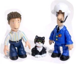 Postman Pat Mini Figures in a Tube Assortment