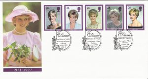 Princess Diana Official Royal Mail First Day Cover