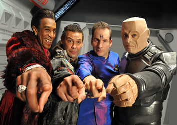 Red Dwarf Holographic Lenticular Prints