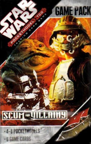 Scum and Villainy Star Wars Pocketmodel Booster (Assorted)