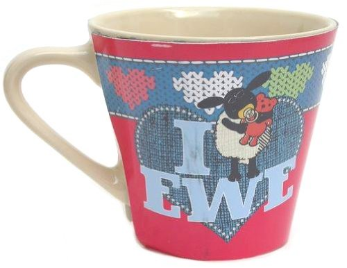 Shaun the Sheep 'Here's Looking at Ewe!' Mug - UNBOXED