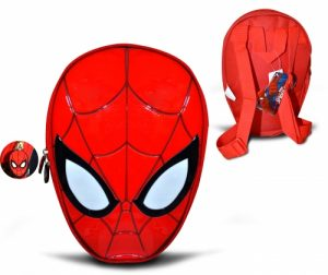 Spider-Man Head Shaped Back Pack