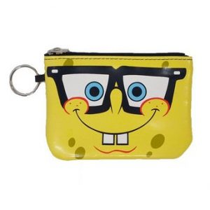 Spongebob Squarepants Zip Top Money Purse
