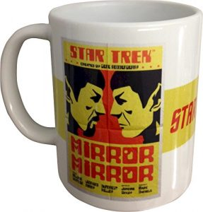 Star Trek 'Mirror Mirror' Juan Ortiz Movie Poster Collectors Mug