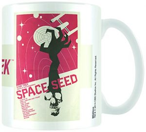 Star Trek Space Seed Ortiz Ceramic Mug