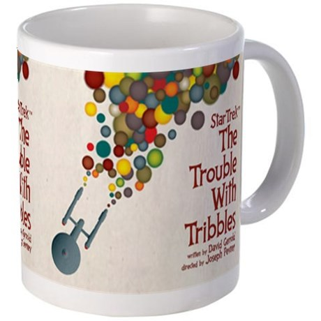 Star Trek Trouble with Tribbles Mug