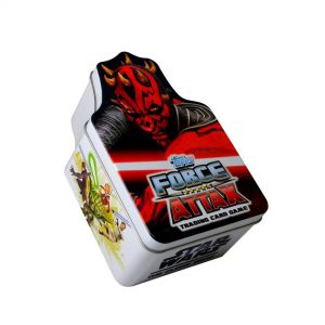 Star Wars Darth Maul Force Attax Trading Card Tin