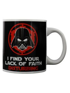 """Star Wars Darth Vader """"Lack Of Faith"""" Mug"""