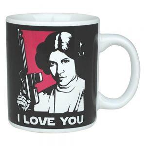 "Star Wars Princess Leia & Han Solo ""I Love You"" Mug"