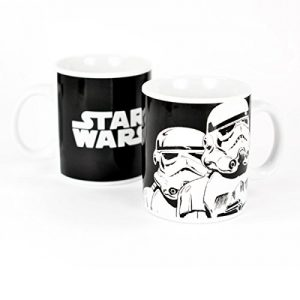 Star Wars Stormtroopers Black And White Mug