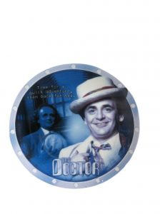 Doctor Who The 7th Doctor - Sylvester McCoy - Special Limited Edition Collectors Plate