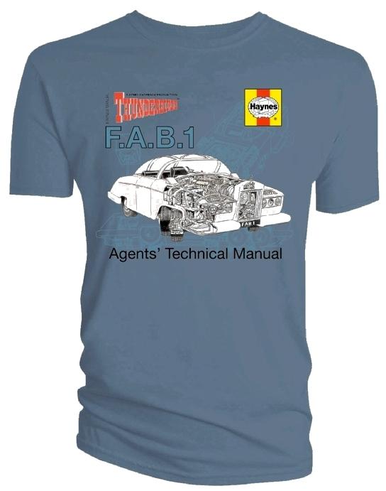 Thunderbirds F.A.B.1 T-Shirt