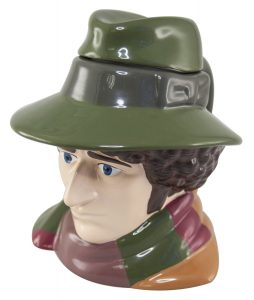 Doctor Who Fourth Doctor Tom Baker Ceramic 3D Mug