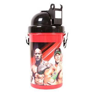 WWE Flip Top Plastic Drinks Bottle