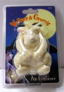 Wallace and Gromit wererabbit were-rabbit air freshener