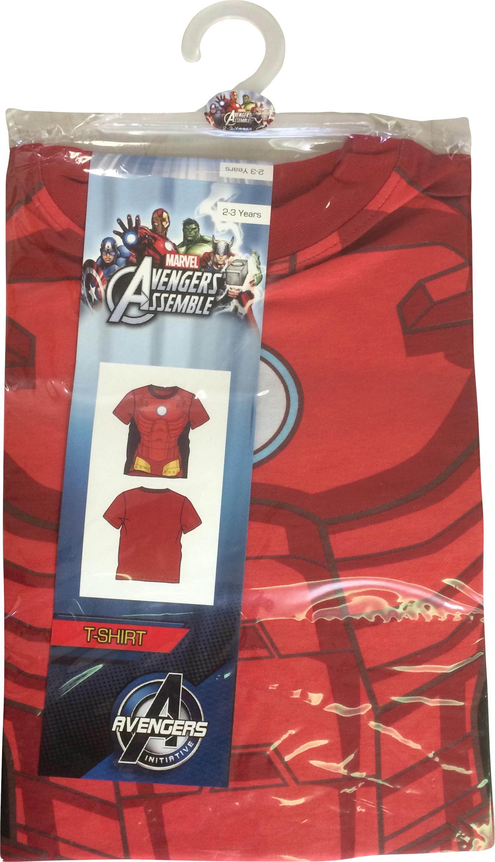 Marvel Avengers Costume T Shirt Assortment Get Retro