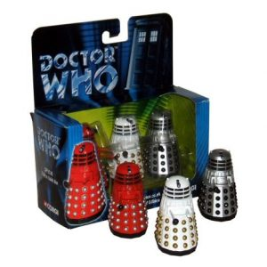 Doctor Who Corgi 3 Dalek Exclusive Contains Red/silver,white,grey/black Versions (3,000 Sets)