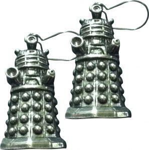 Doctor Who Pewter Earrings - Dalek