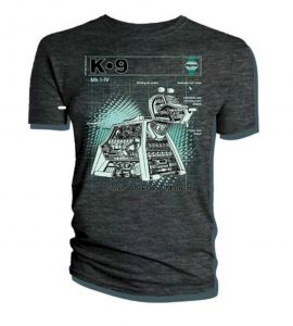 Doctor Who Official T Shirt Haynes Manual K-9