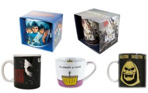 Thunderbirds/Music/Hobbies/Slogan Assorted Boxed Mugs