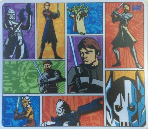 Star Wars Clone Wars Pop Art Mouse Mat