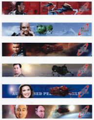 Red Dwarf Moving Image Pens