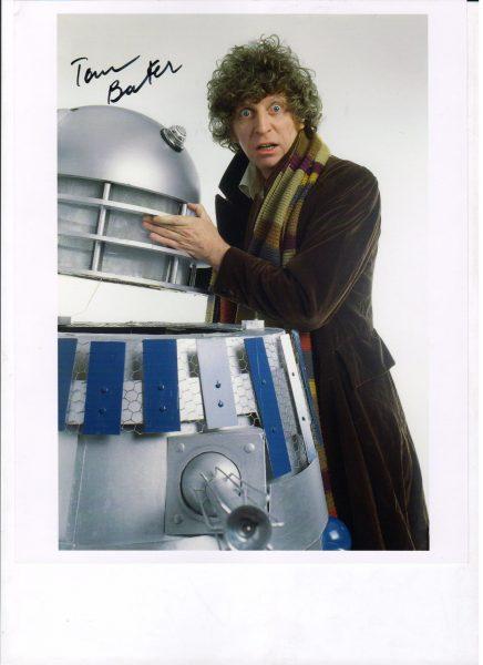 Doctor Who Tom Baker Signed Prints - Assorted