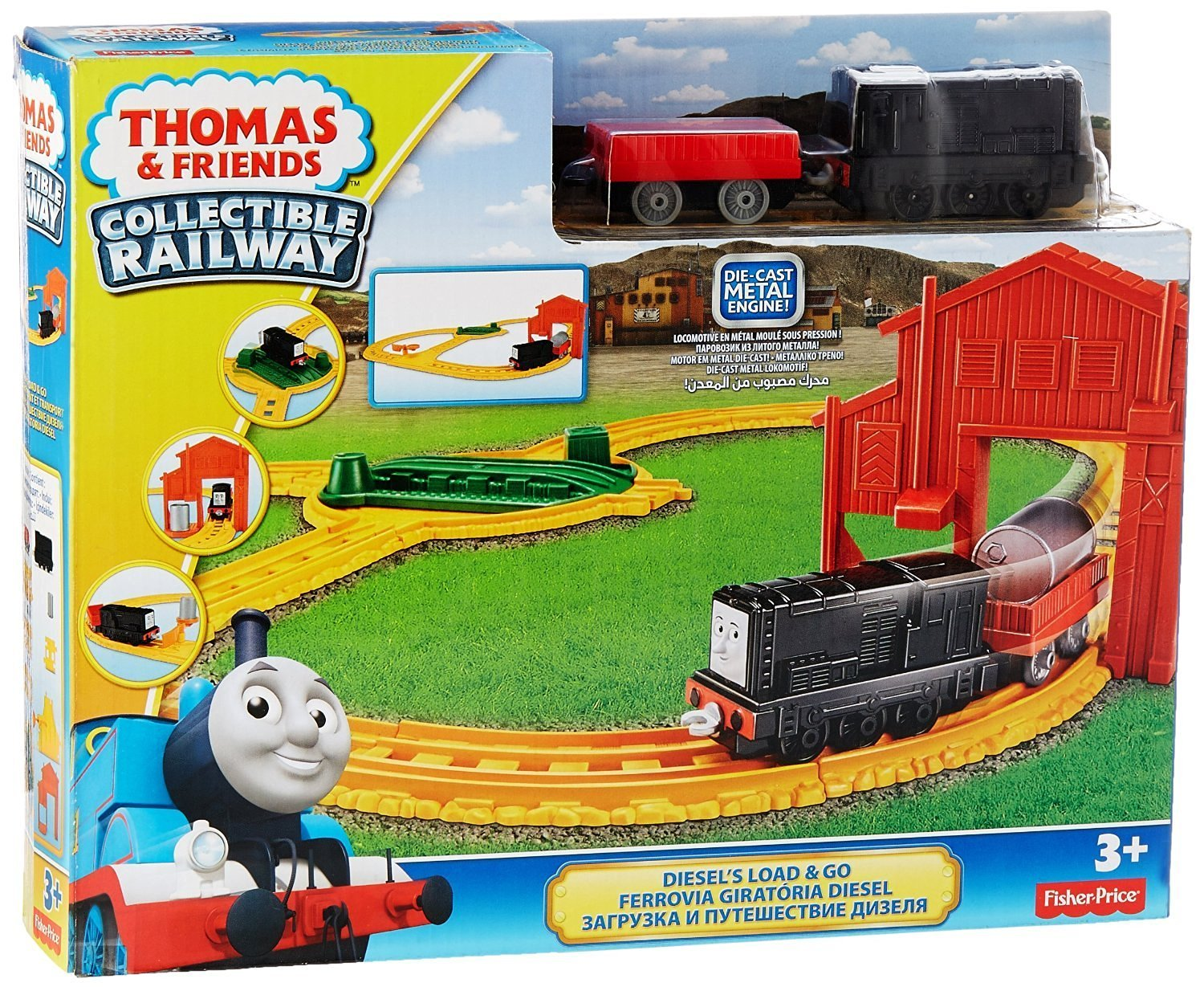 Thomas And Friends Collectible Railway Diesel S Load And