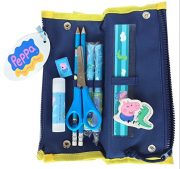 peppa pencil case contents
