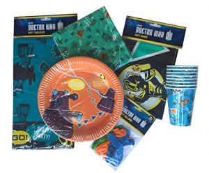Doctor Who party ware