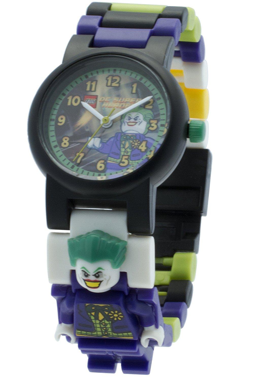 a7584998b23 LEGO Batman Movie JOKER Minifigure Link Watches – Get Retro