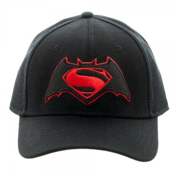 28a142846d4 BATMAN Vs SUPERMAN LOGO SNAPBACK CAP – Get Retro